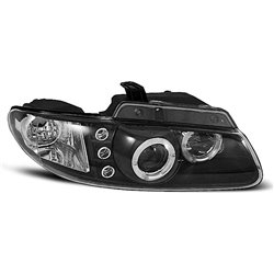 Fari Angel Eyes Chrysler Voyager 96-01 Neri