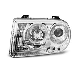 Fari Angel Eyes Chrysler 300 C 05-10 Chrome