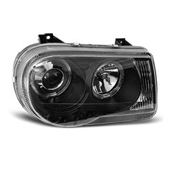 Fari Angel Eyes Chrysler 300 C 05-10 Neri