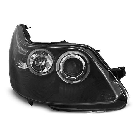 Fari Angel Eyes Citroen C4 04-10 Neri