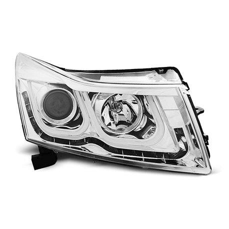 Coppia di fari a Led stile luce diurna Chevrolet Cruze 09-12 Chrome