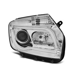 Coppia di fari Tube Light Dacia Duster 2010- Chrome