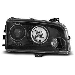 Fari CCFL Angel Eyes Dodge Charger LX 06-10 Neri