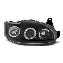 Fari Angel Eyes Ford Escort MK7 95-00 Neri