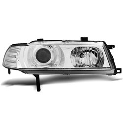 Fari Angel Eyes Honda Prelude 4 92-97 Chrome