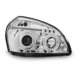 Fari Angel Eyes Hyundai Tucson  04-10 Chrome