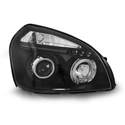 Fari Angel Eyes Hyundai Tucson 04-10 Neri