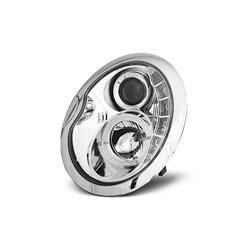 Coppia di fari a Led stile luce diurna Mini R50/R52/R53 01-08 Chrome
