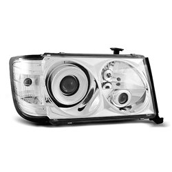 Coppia di fari Design Mercedes W124 85-93 Chrome