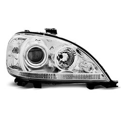 Coppia di fari Design Mercedes Classe M W163 01-05 Chrome
