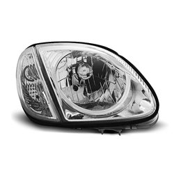 Coppia di fari Design Mercedes SLK R170 96-04 Chrome