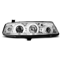 Coppia di fari Angel Eyes Opel Calibra 90-97 Chrome