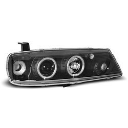 Coppia di fari Angel Eyes Opel Calibra 90-97 Neri