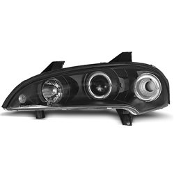 Coppia di fari Angel Eyes Opel Tigra 94-00 Neri