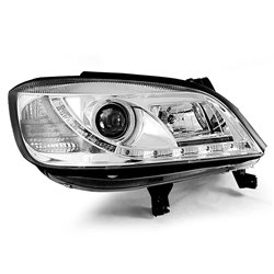 Fari Led stile luce diurna Opel Zafira 99-05 Chrome