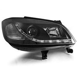 Fari Led stile luce diurna Opel Zafira 99-05 Neri