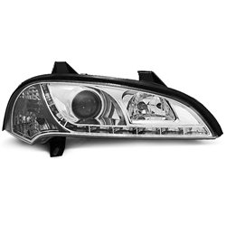 Fari Led stile luce diurna Opel Tigra 94-00 Chrome