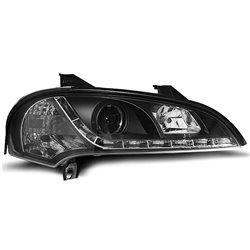 Fari Led stile luce diurna Opel Tigra 94-00 Neri