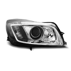 Fari Led con DRL vera luce diurna Opel Insignia 08-12 Chrome
