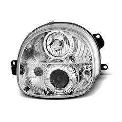 Fari Angel Eyes Renault Twingo 93-98 Chrome