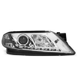 Fari Led stile luce diurna Renault Laguna II 01-05 Chrome