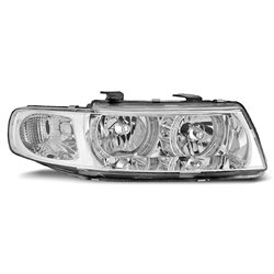 Fari Angel Eyes Seat Leon / Toledo 99-04 Chrome