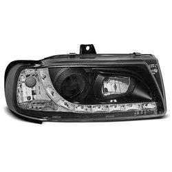Fari Led stile luce diurna Seat Ibiza / Cordoba 93-99 Polo Variant Neri