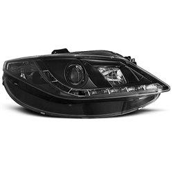 Fari Led stile luce diurna Seat Ibiza 6J 08 Neri