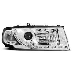 Fari Led stile luce diurna Skoda Octavia I 00-04 Chrome