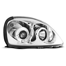 Fari Angel Eyes Toyota Yaris 99-03 Chrome