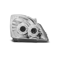 Fari Angel Eyes Toyota Land Cruiser 120 03-09 Chrome