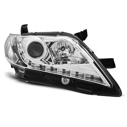 Coppia di fari a Led stile luce diurna Toyota Camry 6 XV40 06-09 Chrome