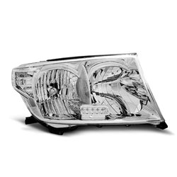 Fari LED Design Toyota Land Cruiser FJ200 07- Chrome