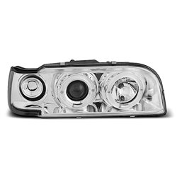 Coppia di fari Angel Eyes Volvo 850 92-96 Chrome