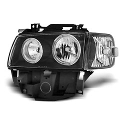 Fari Angel Eyes Volkswagen T4 Bus 96-03 Neri