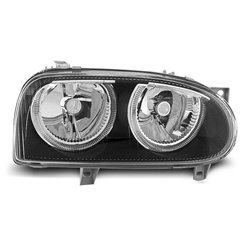 Fari Angel Eyes Volkswagen Golf III 91-97 Neri