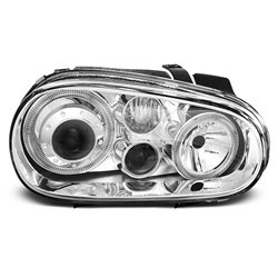 Fari Angel Eyes Volkswagen Golf IV 97-03 Chrome
