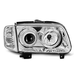 Fari Angel Eyes Volkswagen Polo 6N2 99-01 Chrome