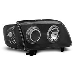 Fari Angel Eyes Volkswagen Polo 6N2 99-01 Neri
