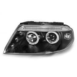 Fari Angel Eyes Volkswagen Passat 3BG 00-05 Neri