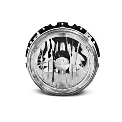 Fari Angel Eyes Volkswagen Golf I 74-83 Chrome