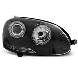 Fari Angel Eyes Volkswagen Golf V 03-08 Neri
