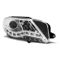 Coppia di fari a Led stile luce diurna Volkswagen Passat CC Chrome