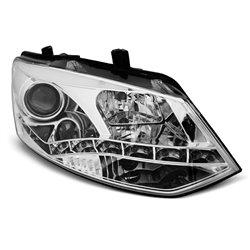 Fari Led vera luce diurna Volkswagen Polo 6R 09-14 Chrome