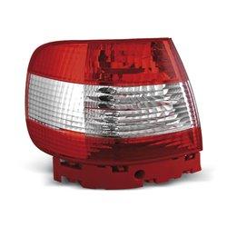 Coppia fari posteriori Audi A4 B5 94-00 berlina Rossi e Bianchi