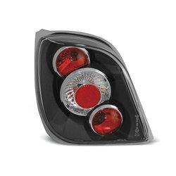 Coppia fari posteriori Ford Fiesta MK3 89-95 Neri