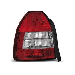Coppia fari posteriori Honda Civic VI 3p. 95-01 rossi