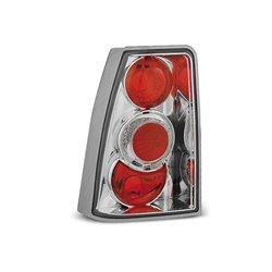 Coppia fari posteriori Opel Kadett E 84-91 Chrome