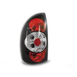 Coppia fari posteriori Opel Corsa B 5p. 93-00 Neri