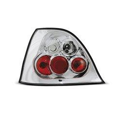 Coppia fari posteriori Rover 200-25 95-05 Chrome